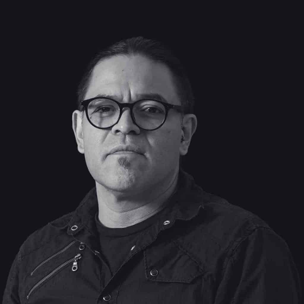 Retrato de Edgar Castrejón