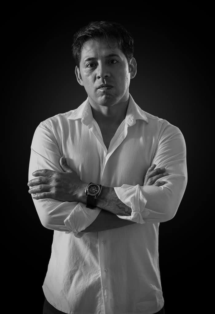 Oscar Espadas (NYX) Retrato