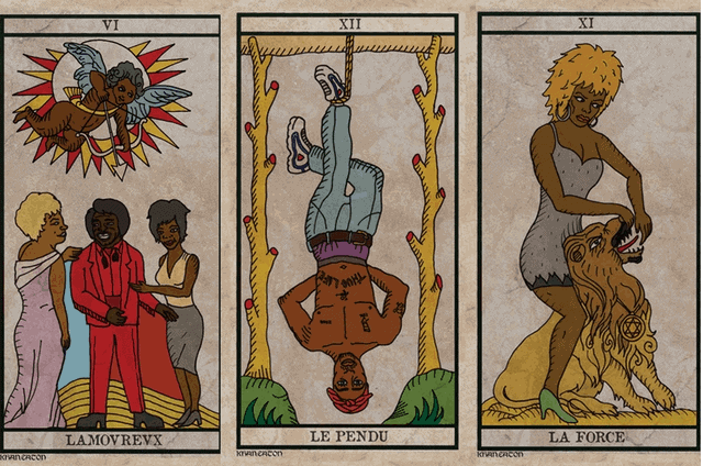 Black Power Tarot