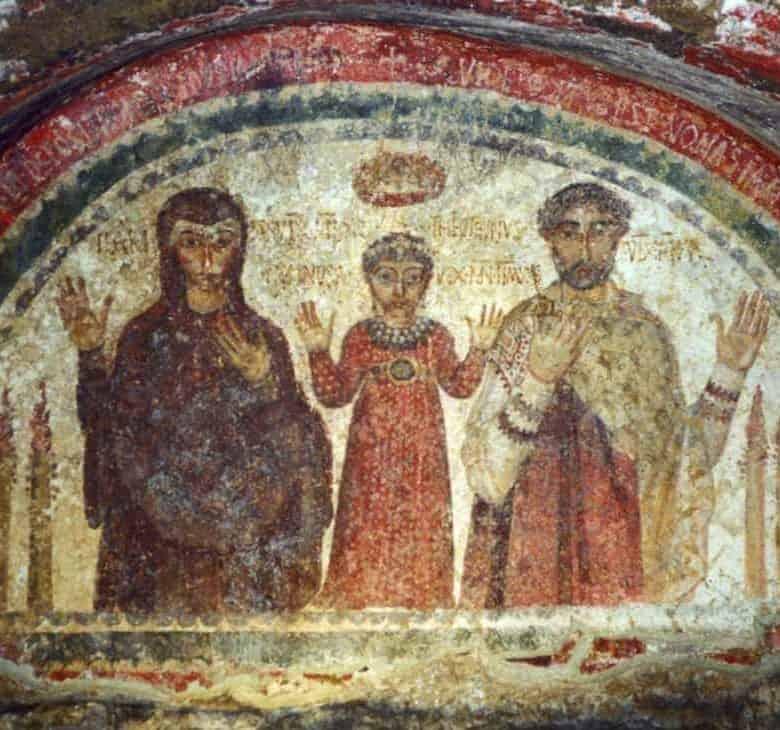 Pinturas paleocristianas