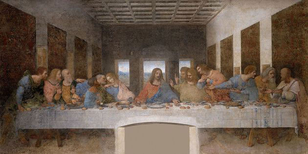 La Última Cena de Da Vinci