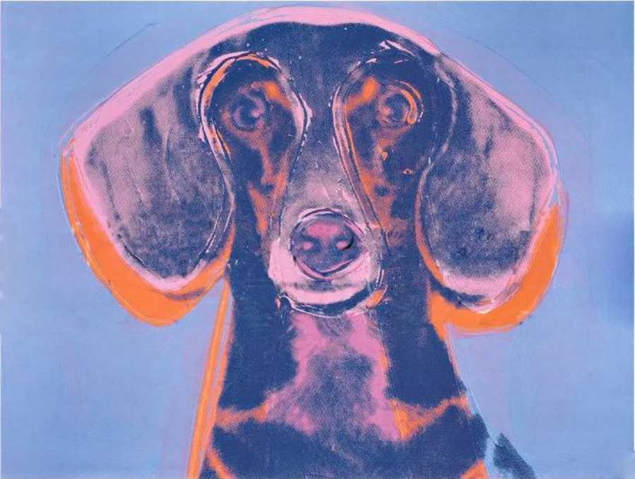 Retrato de Maurice perro Warhol