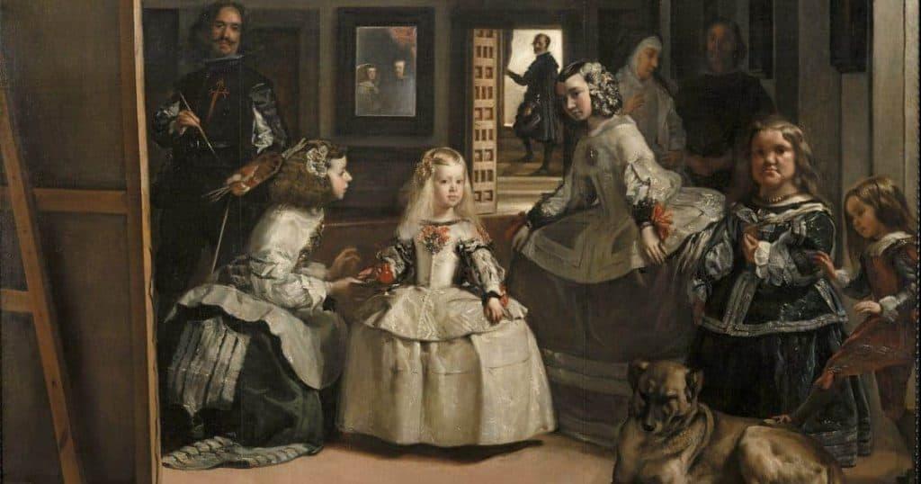 Las Meninas de Velázquez perro